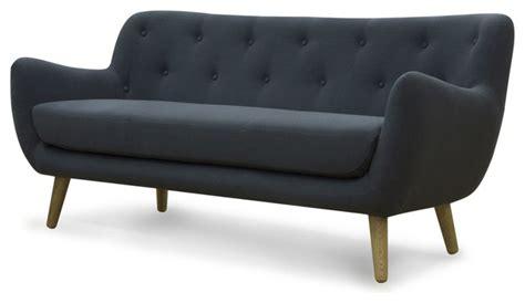 canapé modulable alinea poppy meuble canap 233 3 places fixe gris scandinave
