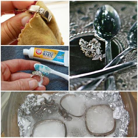 Reinigen Silberschmuck Hausmittel by Silber Reinigen Tipps Und Tricks Mit Wirksamen