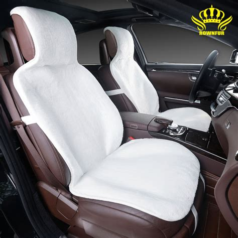 car accessories interior seat covers aliexpress buy car seat covers set white faux fur