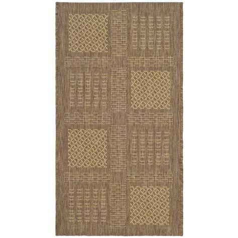 safavieh cy2727 3009 courtyard indoor outdoor area rug lowe s canada safavieh courtyard brown 2 ft x 3 ft 7 in indoor outdoor area rug cy1928 3009 2 the