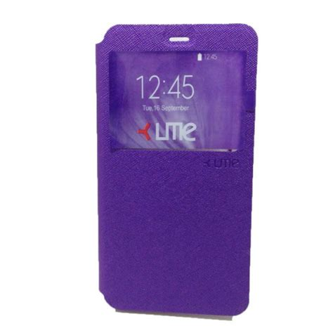 Ume Flip Cover Xiaomi Redmi Note 3 Flipcover jual ume flip leather xiaomi redmi note 3 purple indonesia original harga murah