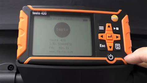 up in the air testo setting up the testo 420 air balancing flow system