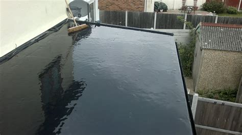 new epdm crown flat roof new epdm flat roof installed