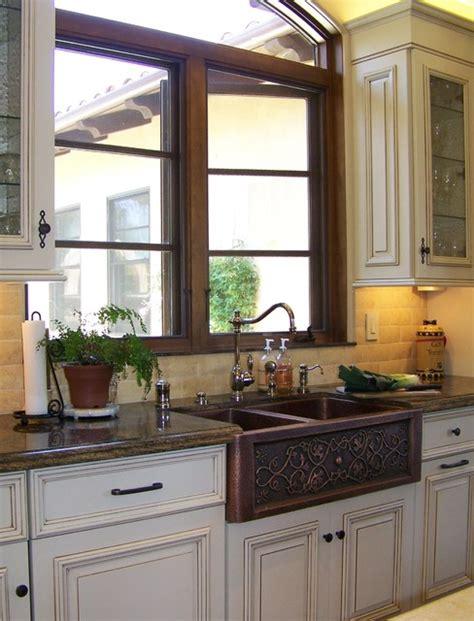 Kitchen With Copper Sink Copper Farmhouse Sink Design