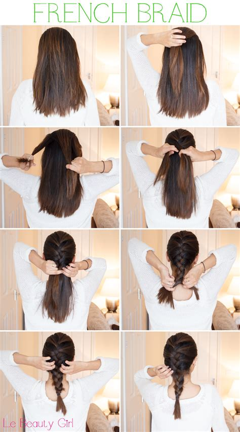 how to braid short hair step by step french braid tutorial for medium hair pictures photos