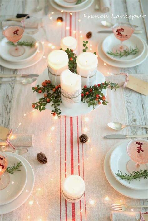 elegant christmas table decorations easyday