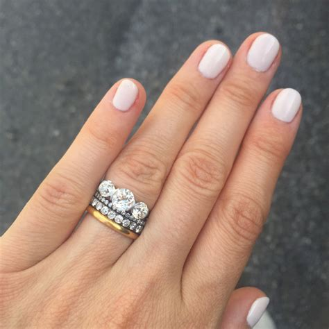Wedding Ring Stack by Stacked Wedding Ring Styles That Ll Leave You Breathless