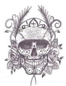 another sugar skull drawing jmg creations