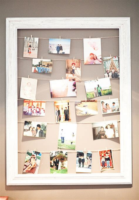 picture frame hanging ideas 20 cool diy photo collage for dorm room suggestions
