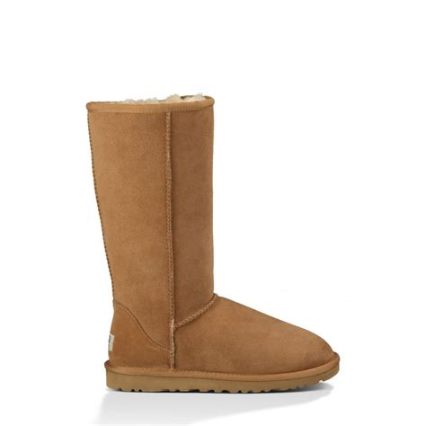 ugg boot slippers for ugg australia womens classic boot in chestnut