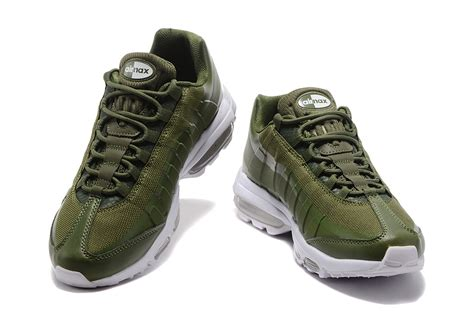 olive green nike shoes nike air max 95 olive green white s running