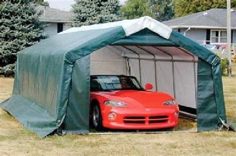 Auto Shelters Portable Garages by How To Build A 10x10 Shed Plans Greenhouse Shed Plan