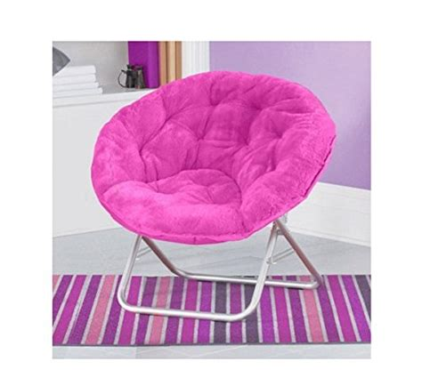 faux fur chair pink comfortable mainstays faux fur saucer chair pink