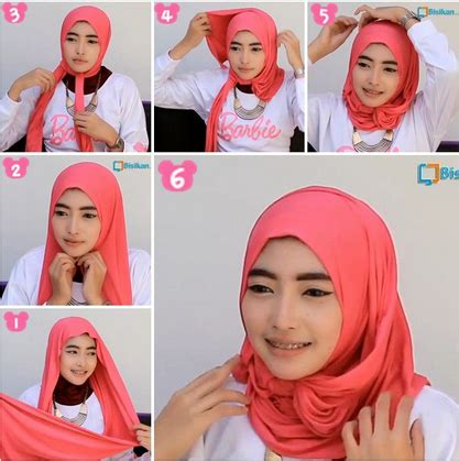 video tutorial hijab modern simple video tutorial hijab modern simple