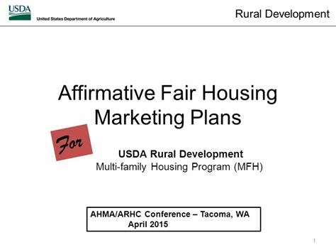 affirmative fair housing marketing plan affirmative fair housing marketing plans ppt video online download