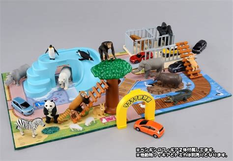 Zoo Zoo Zoo Takara Tomy ania animal adventure play set wakuwaku zoo takara tomy