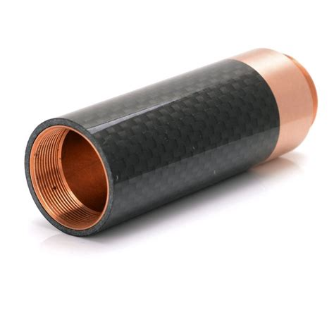 Av Able Blavk Carbon av able style mechanical mod copper black 1 extension