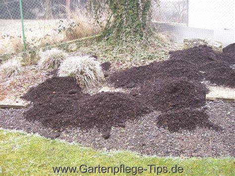 Rindenmulch Im Garten