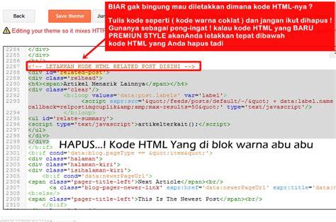 membuat blog artikel membuat artikel terkait dibawah postingan blog premium