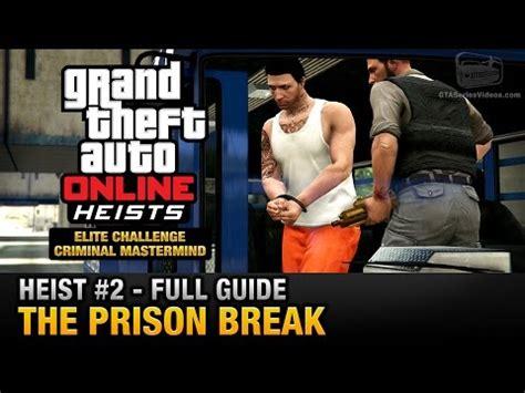 gta online heist #1 the fleeca job (elite challenge