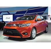 Toyota Vios 3 Quarter Front Red