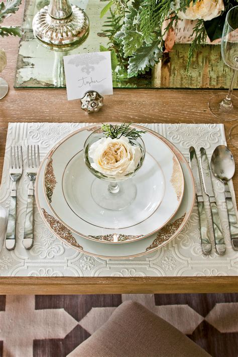 elegant table settings and different things to use to christmas party ideas elegant dinner party southern living