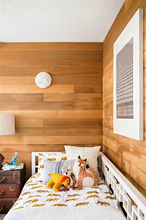 decoracion paredes madera dormitorios infantiles con paredes de madera