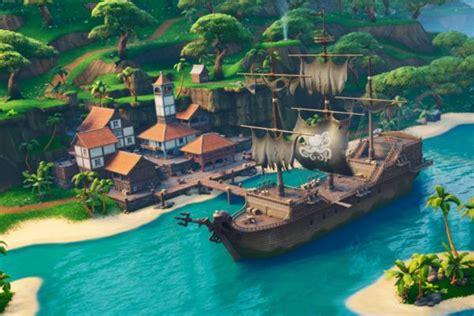 fortnite pirate camp locations    map  visit