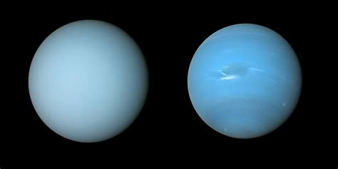 what color is the planet uranus the subtle color difference between uranus and neptune