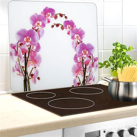 protection mur cuisine protection mural orchidee wenko wenko protection plaques