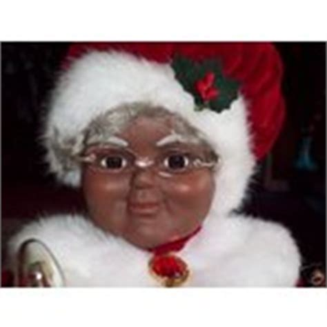 2007 african american 28 quot animated musical mrs claus 12
