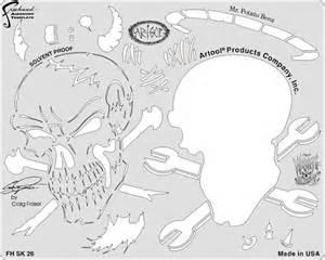 Airbrush Templates Free by Artool Wrath Of Skullmaster By Craig Fraser Templates Mini