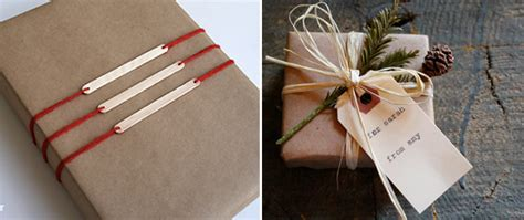 Craft Paper Wrapping Ideas - 10 kraft paper wrapping ideas craftbnb