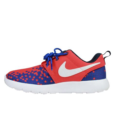 Nike Kid White nike roshe one print preschool running shoes