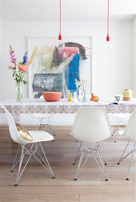 Colorful Chairs For Dining Room by 10 Beautiful Interior Designs Featuring The Eames 174 Molded