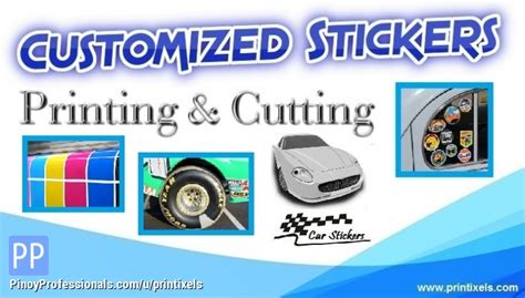 printable clear sticker paper philippines sticker cutting and printing services printixels feb