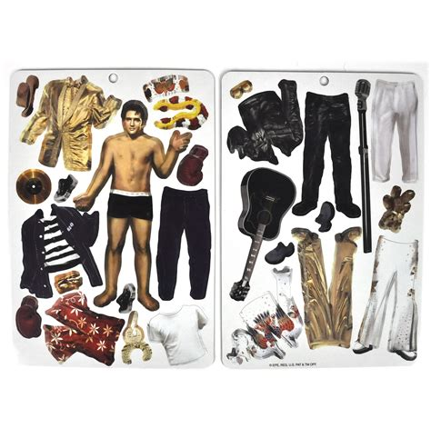 Elvis Wardrobe by Elvis Fit For The King Magnetic Dress Up
