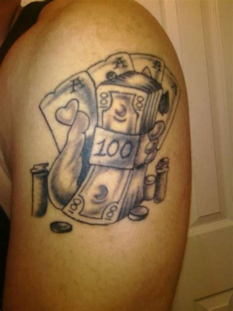 tattoo of life is a gamble life is a gamble tattoo