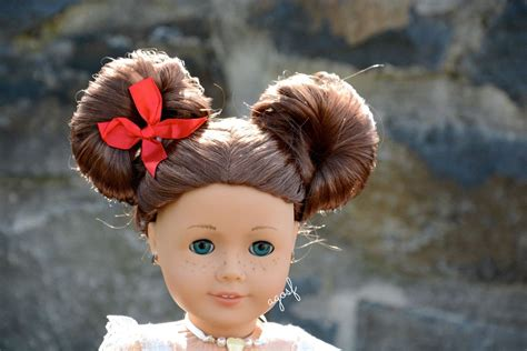 Doll Hairstyles For Hair by Pretty American Doll Hairstyles Www Pixshark