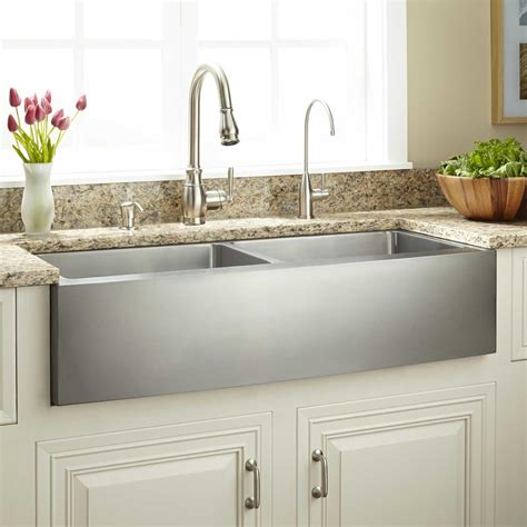 Kitchen With Farm Sink by 39 Quot Optimum Bowl Stainless Steel Farmhouse Sink