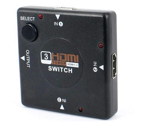 Murah Hdmi Switch 3 Port 3 Input 1 Output Hdmi Switcher mini v1 4 3 port hdmi switch switcher hdmi splitter hdmi port for ps3 ps4 for xbox 360 pc dv dvd