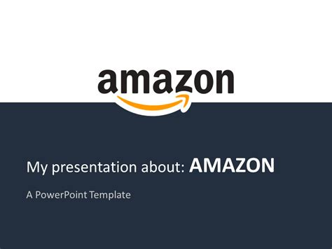 a m amazon powerpoint template presentationgo com