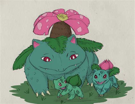 Kaos Go Bulbasaur Ivysaur Venusaur Sketch A Day Day 7 Bulbasaur Ivysaur Venusaur By