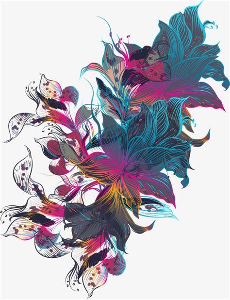 imagenes artisticas gratis lineas artisticas de flores vector png sentido art 237 stico