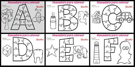 imagenes educativas abecedario abecedario para colorear portada imagenes educativas
