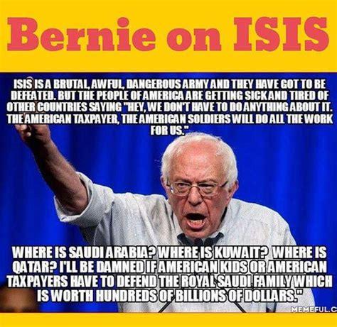 Anti Bernie Memes - bernie on isis democratic underground
