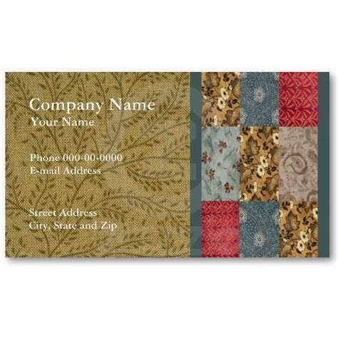 53 best images about quilters business cards on