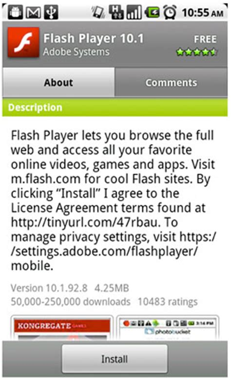 flash 10 1 apk adobe flash player 10 1 sheds beta status available for