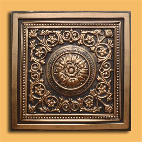 Bronze Ceiling Tiles by 24 Quot X24 Quot Majesty Antique Bronze Black Pvc 20mil Ceiling