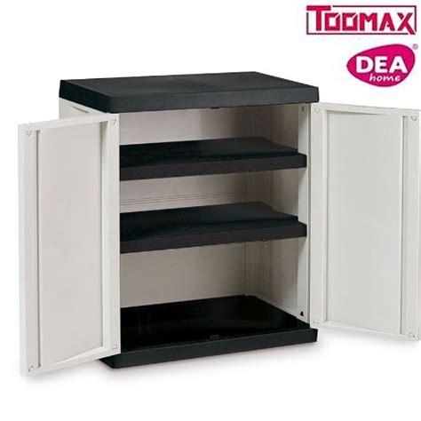 armadietti per esterno in resina armadio in resina per esterno basso con mensole piani 2